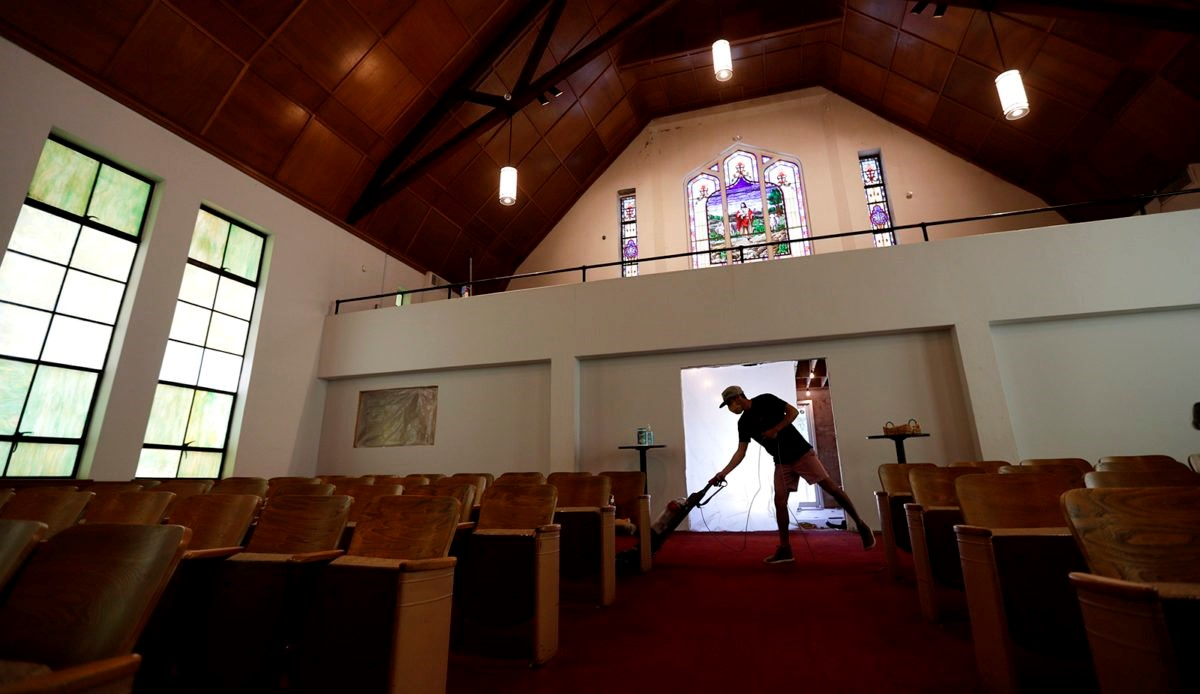 As Pandemic Eases Churches Clean And Insurance Companies Assess